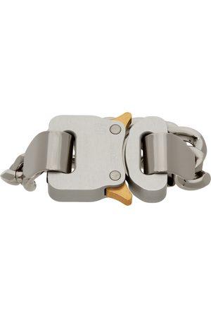 1017 ALYX 9SM Silver Hero 4X Chain Bracelet