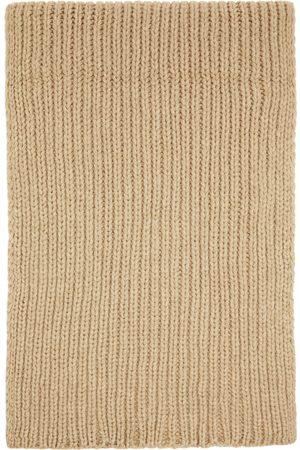 Baserange Women Scarves - Beige Merino Wool Scarf