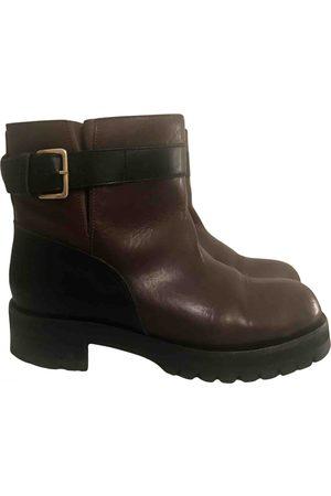 Marni Leather biker boots