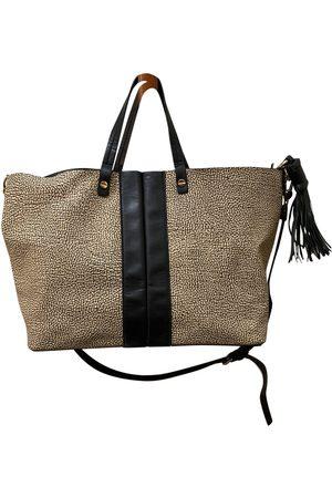 BORBONESE Leather handbag