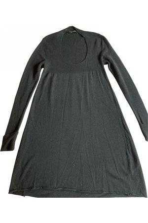 MANILA GRACE Wool mid-length dress