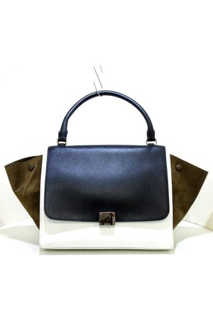 Celine Women Purses - Trapèze leather handbag