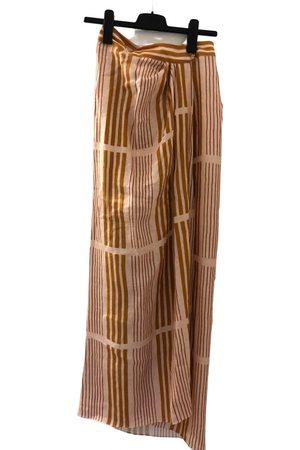 Johanna Ortiz Linen maxi skirt