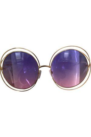 Chloé Carlina oversized sunglasses