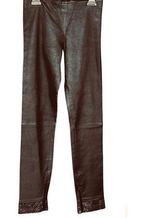 Jitrois Leather slim pants
