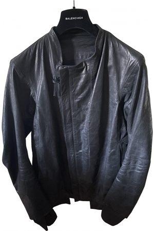 Boris Bidjan Saberi Vegan leather jacket