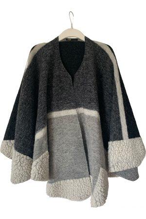 Maje Wool poncho