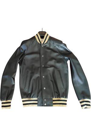 Palm Angels Men Leather Jackets - Leather jacket