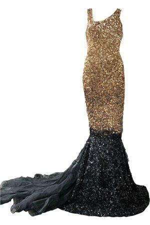 Aje Silk maxi dress