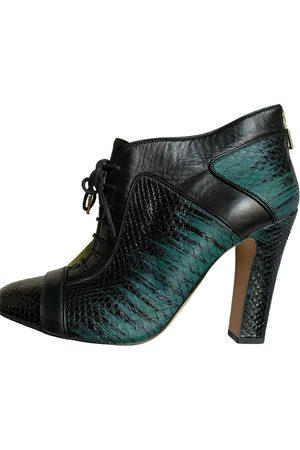Elie Saab Leather ankle boots