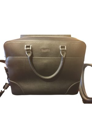 GUESS Men Travel Bags - Leather weekend bag