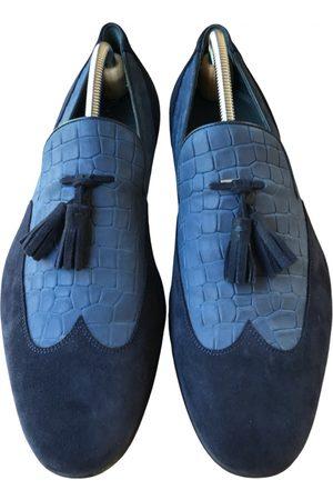 MORESCHI Leather flats