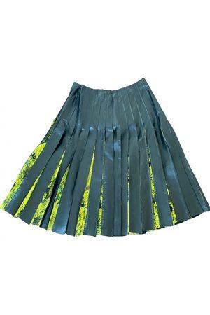 Vionnet Leather mini skirt
