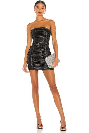 superdown Lily Ruched Mini Dress in .