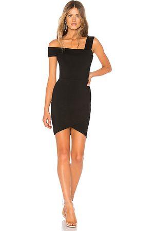 superdown Fallon Asymmetrical Mini Dress in .