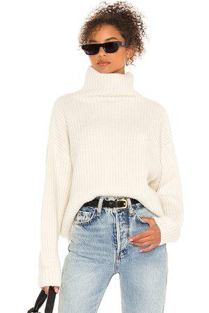 ANINE BING Sydney Sweater in Ivory.