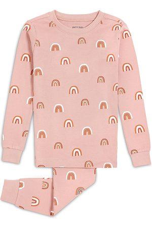 FIRSTS by petit lem Baby Nightdresses & Shirts - Girls' Rainbows Two Piece Pajama Set - Baby