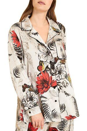 Persona by Marina Rinaldi Bambola Printed Twill Shirt