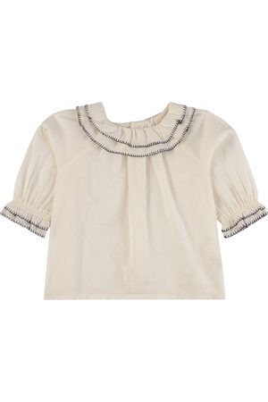 BONPOINT Blouse with Collar - 6 months - - Blouses