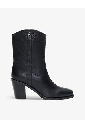 Claudie Pierlot Andalousie leather cowboy boots