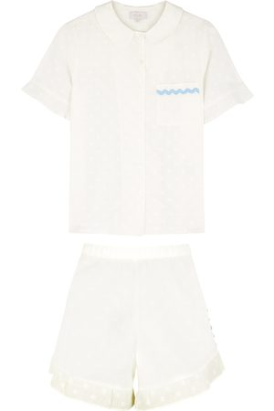 YOLKE Women Pajamas - Thebe jacquard cotton pyjama set