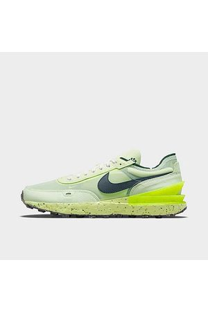 Nike Men's Waffle One Crater Casual Shoes in /Lime Ice Size 7.5 Suede