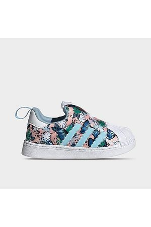 adidas Girls' Toddler Originals Superstar 360 Girls Are Awesome Casual Shoes in /Haze Coral Size 4.0
