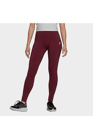 Adidas Women's Originals LOUNGEWEAR Adicolor Essentials Tights in /Victory Crimson Size X-Small Cotton/Jersey