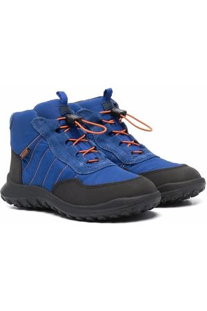 Camper Boys Ankle Boots - Waterproof lace-up ankle boots
