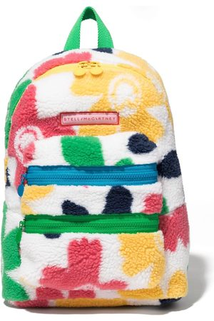Stella McCartney Smiley Flowers teddy backpack
