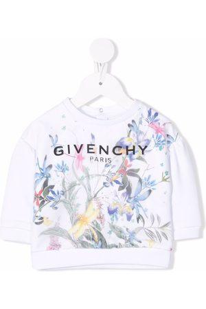 Givenchy Jungle-print fleece sweatshirt