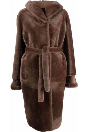 Blancha Tied-waist coat