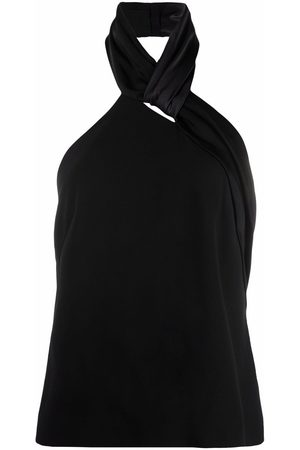 Givenchy Twist-detail halterneck top