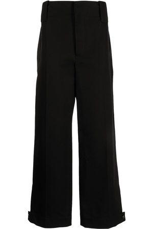 Bottega Veneta Men Formal Pants - Pressed-crease tailored trousers