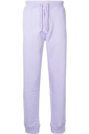 Helmut Lang Men Sweatpants - 3D logo cotton track pants