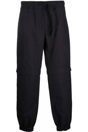 Msgm Men Straight Leg Pants - Buckled-waist trousers