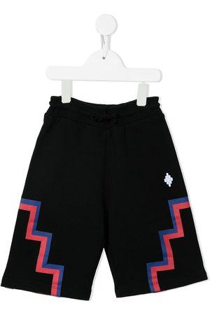 MARCELO BURLON Boys Shorts - Cross-motif track shorts