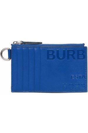 Burberry Men Wallets - Horseferry print card case lanyard