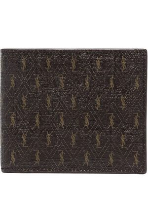 Saint Laurent Men Wallets - Monogramme bifold wallet