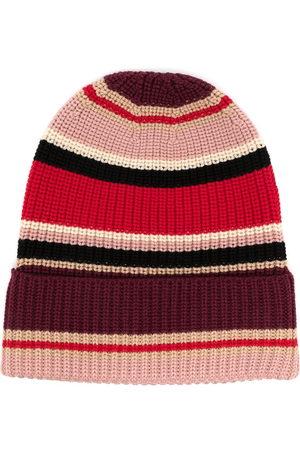 Ports V Beanies - Striped wool beanie - Multicolour