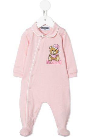 Moschino Kids Pajamas - Bear-motif pajamas