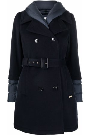 Woolrich Women Trench Coats - Kuna quilted-finish trench coat