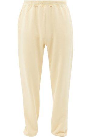ARIES Men Sweatpants - Logo-print Cotton-jersey Track Pants - Mens