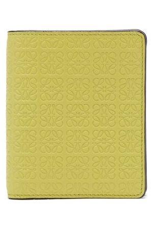 Loewe Women Purses - Anagram-debossed Leather Wallet - Womens