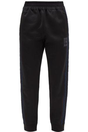 Fendi Ff-tape Jersey Track Pants - Mens