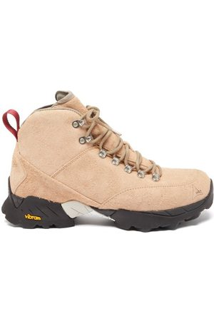 ROA Men Outdoor Shoes - Andreas Suede Hiking Boots - Mens