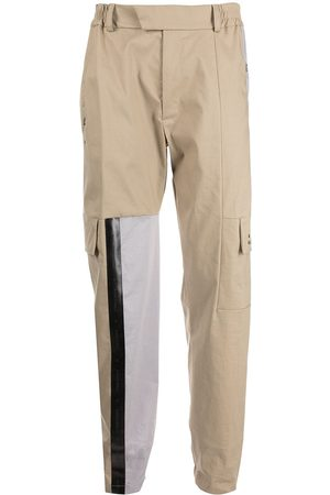 A-COLD-WALL* X Mackintosh panelled cargo trousers - Neutrals