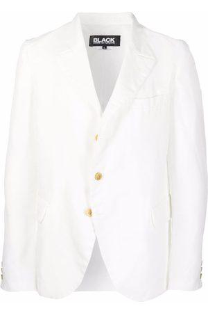 Comme des Garçons Blazers - Single-breasted buttoned blazer