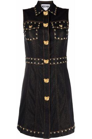 Moschino Women Jeans - Teddy-studs denim dress