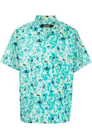 Billionaire Boys Club Men Short sleeves - Leopard print short-sleeve shirt